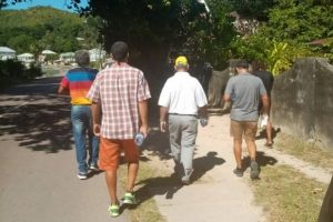 The Real Campaigning of One Seychelles - Alain St Ange