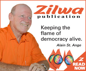 Zilwa publication, the official publication of One Seychelles and Alain St Ange