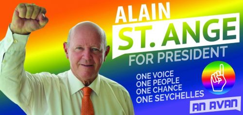 Alain St.Ange – One of Three Duly Nominated Presidential Candidates - SEYCHELLES ELECTIONS 2020