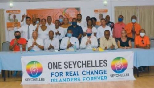 One Seychelles Makes History - ONE SEYCHELLES - ALAIN ST ANGE